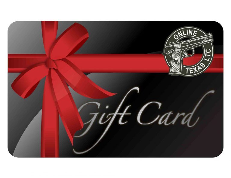 Online Texas LTC Gift Card